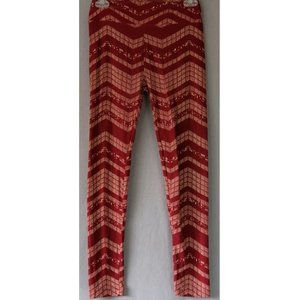 Lularoe | One Size | Maroon Leggings